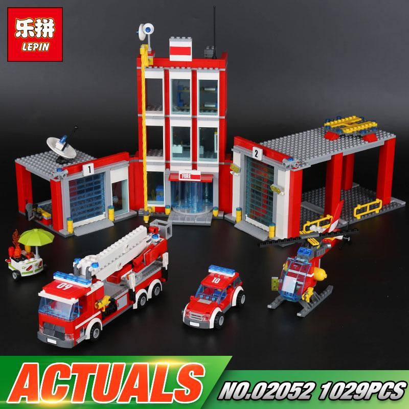 Lepin The Fire Station Set