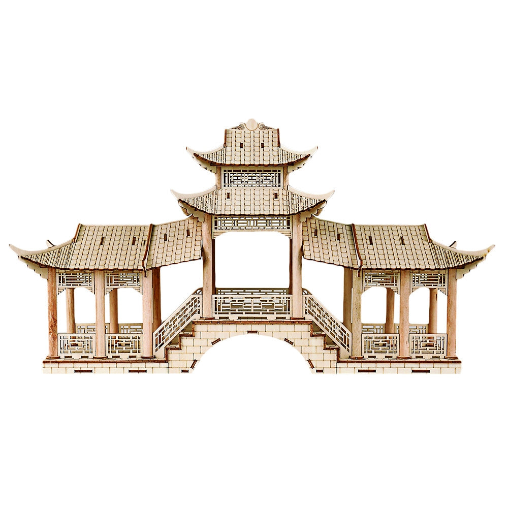 3D Ancient Chinese Architectural Model