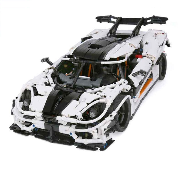 Lepin Changing Racing Car Set