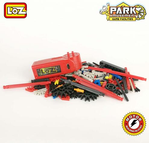 LOZ Technic Electric Motor Blocks Ferris Wheel