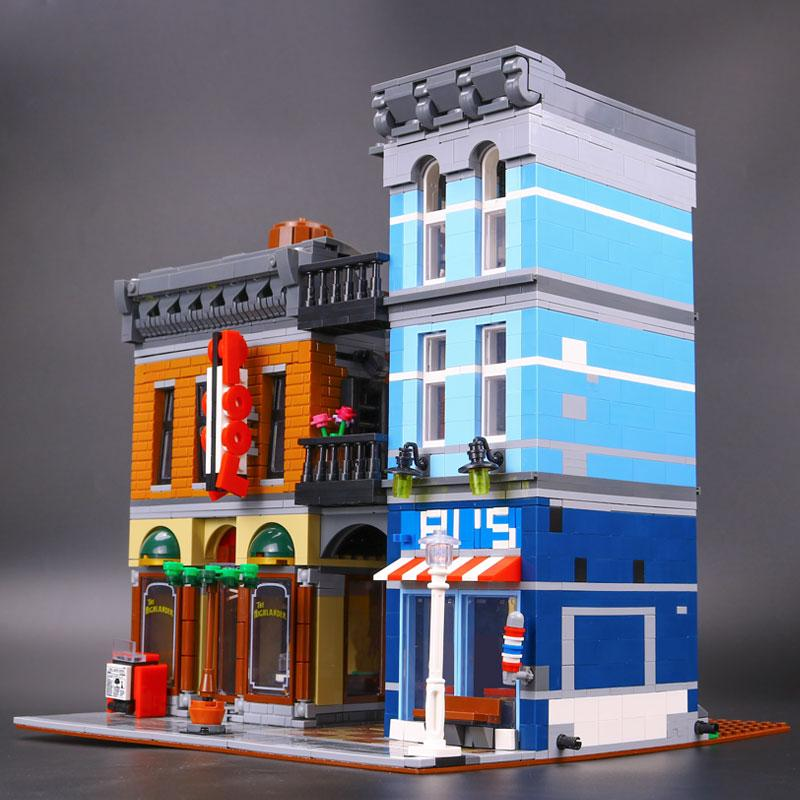 Lepin The Detective's Office Set