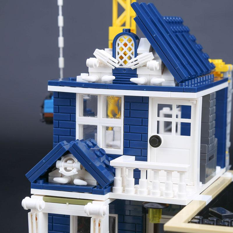 Lepin Streetsight MThe Bars and Financial Companies Set