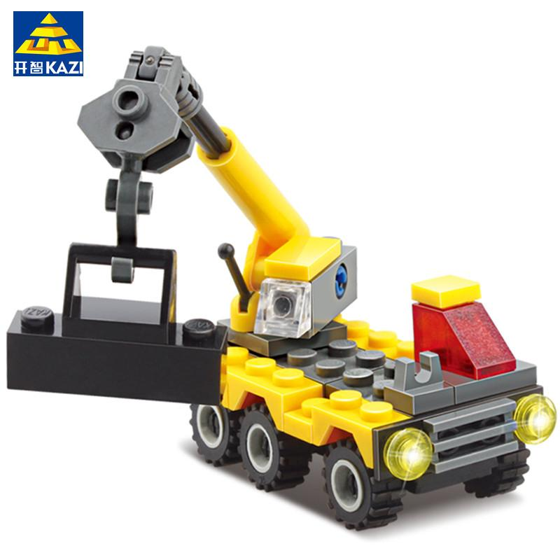 KAZI Building Blocks Particles Small Crane