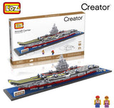 LOZ Diamond Blocks Aircraft Carrier