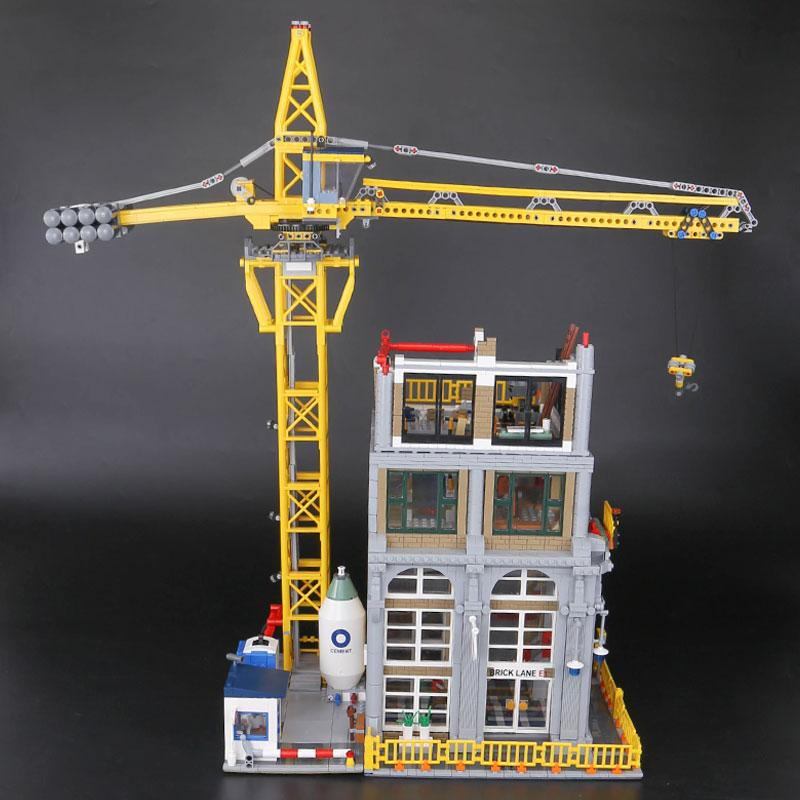 Lepin The construction with Crane Set