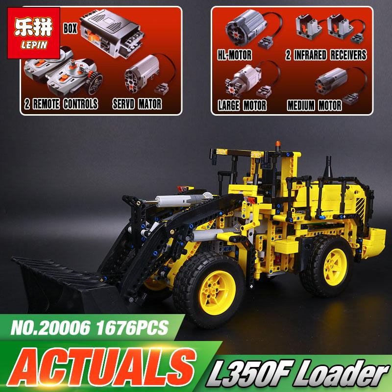 LEPIN Wheel Loader Model Building Kit