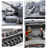 KAZI Building Blocks Military Tank Toys