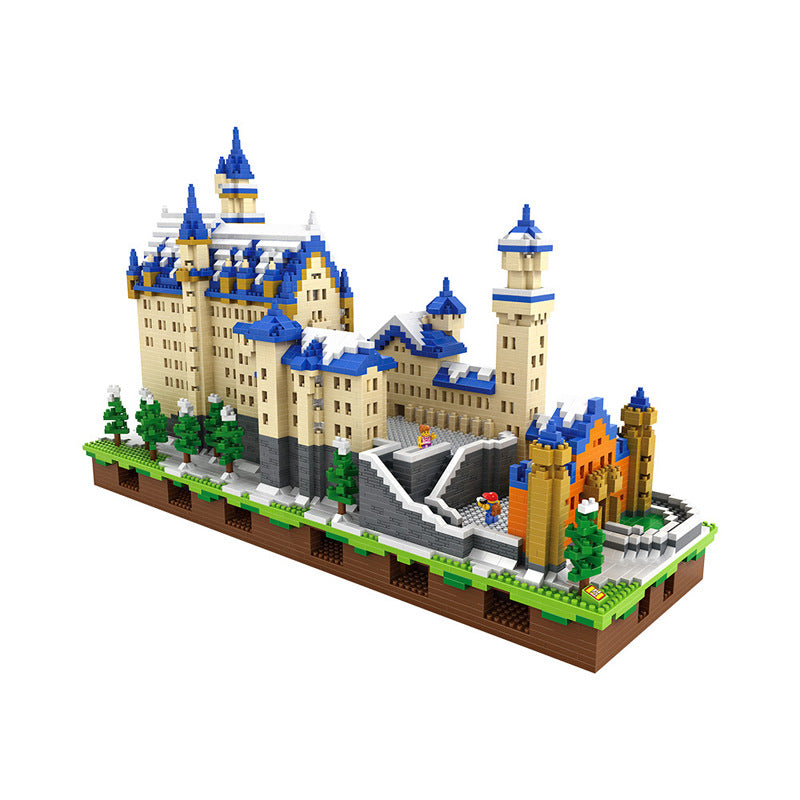 LOZ Diamond Blocks Architecture Schloss Neuschwanstein Castle Model