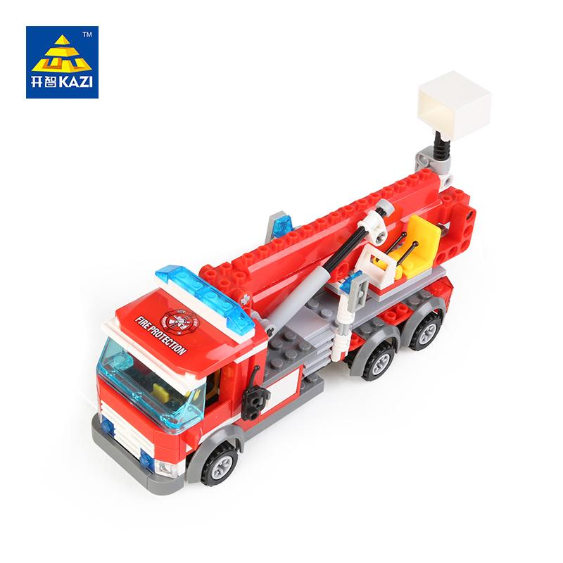 Kazi Fire Truck Building Blocks Set