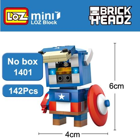 LOZ Mini Super Hero Blocks