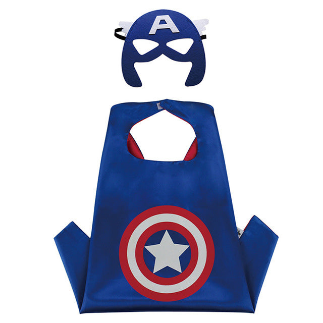 Reversible Toddler Superhero Costumes