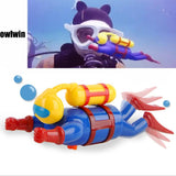 Diver Figurine Swimming Bath Toy