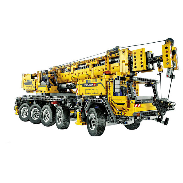 LEPIN Technic Motor Power Mobile Crane