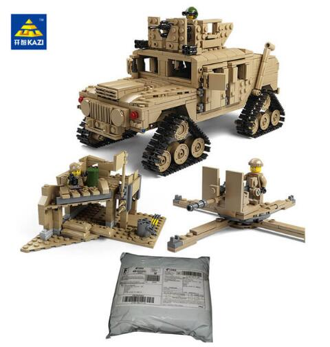 Kazi Tank Model Building Blocks Military Miniatures Bricks