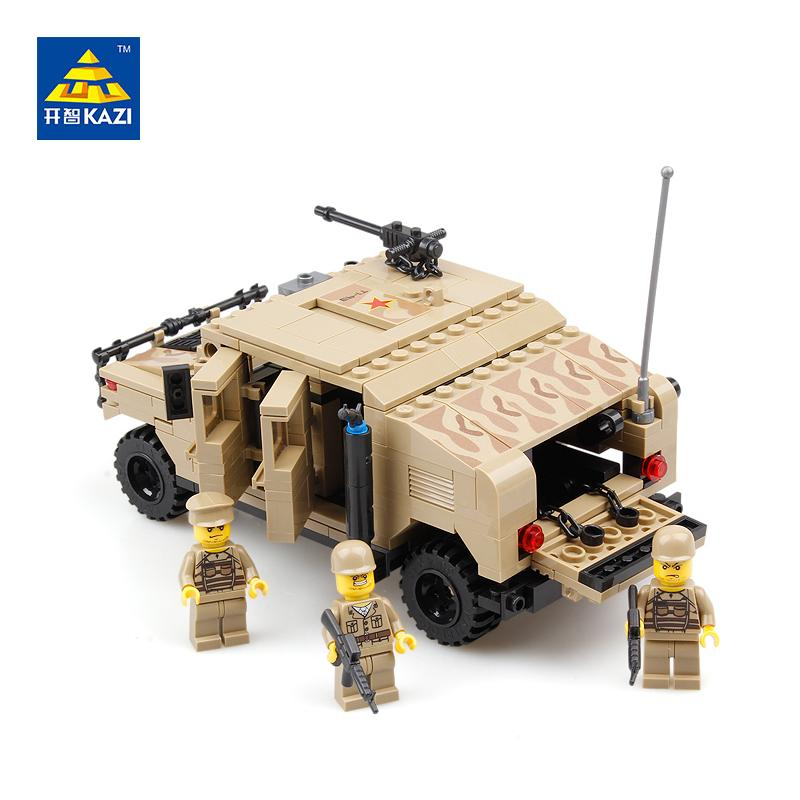 KAZI Military War Hummer Building Blocks