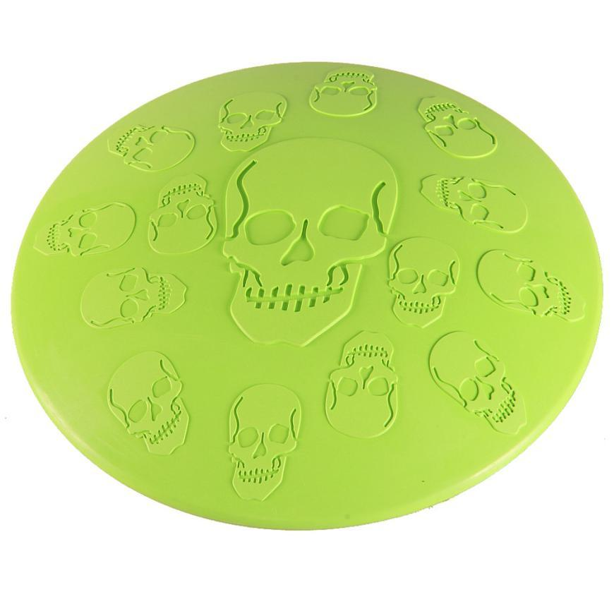 Skull Flying Disc Frisbee Toy