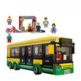 Lepin The Bus Station Set