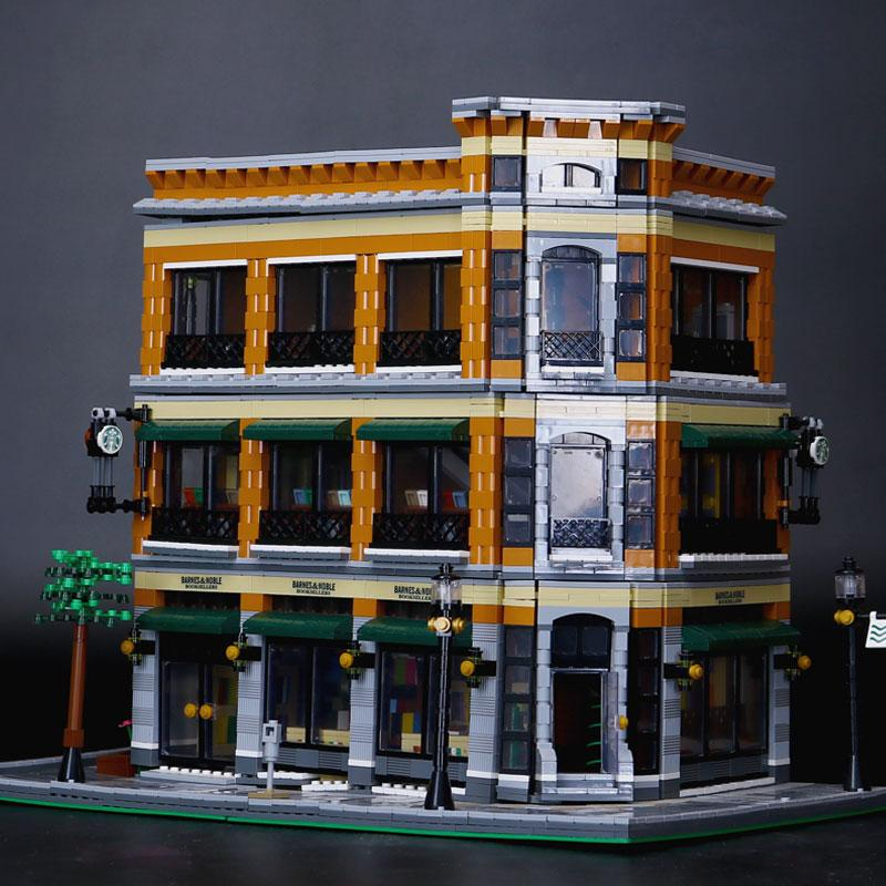LEPIN Bookstore Cafe Model