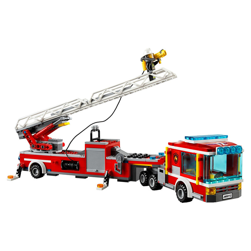 Lepin The Fire Engine Set