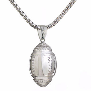 Iced-Out Football Chain