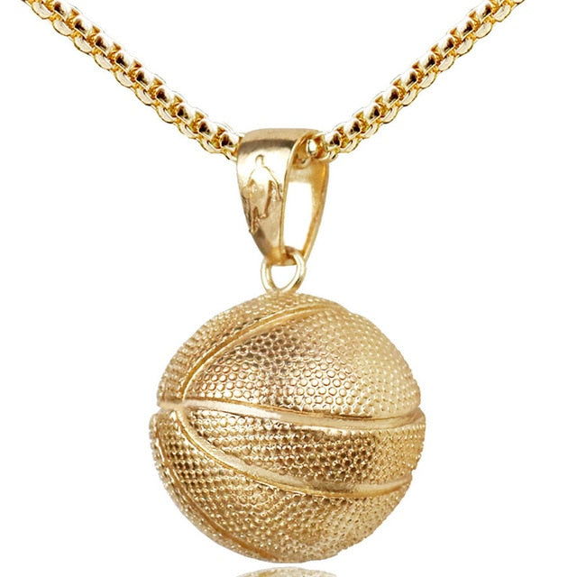Gold/Silver Stainless Steel B-Ball Chain