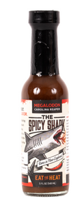 Megalodon Carolina Reaper Hot Sauce (5oz, Wicked Hot)
