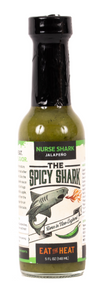Nurse Shark Jalapeno Hot Sauce (5oz, Warm Heat)
