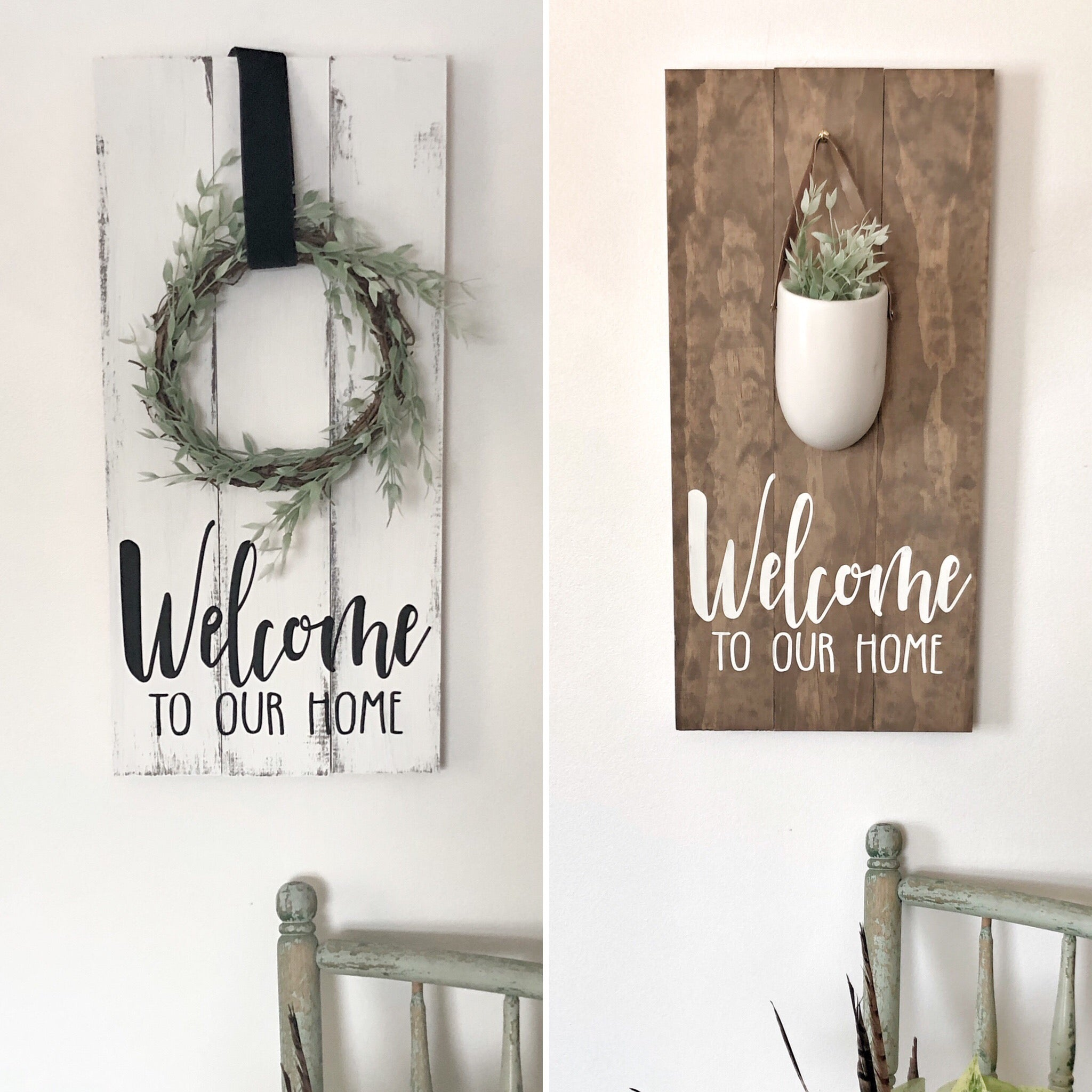 Welcome To Our Home Sign Studio 527