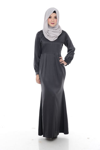 Katie Dress (Charcoal)