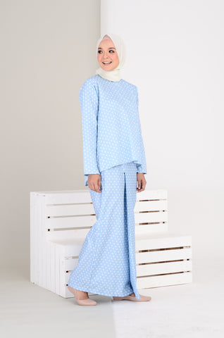 Nabila Kurung in Polka Dot