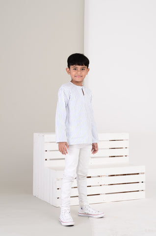 Boys Kurta in White
