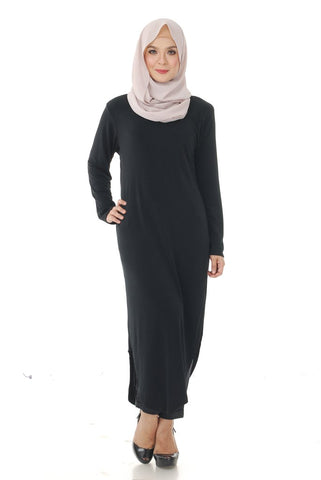 Kylie Tunic Top (Black)
