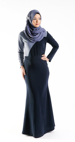 Rania Dress (Blue)