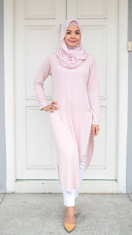 Kylie Tunic Top (Cotton Candy)