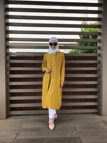 Arissa Tunic in Mustard