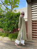 Ayra Tunic in Olive Green