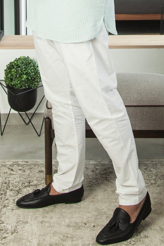 Kurta Pants in Off White (Men)