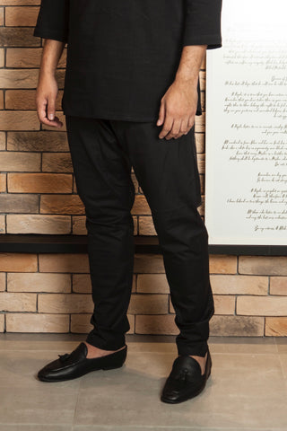 Kurta Pants in Black (Men)