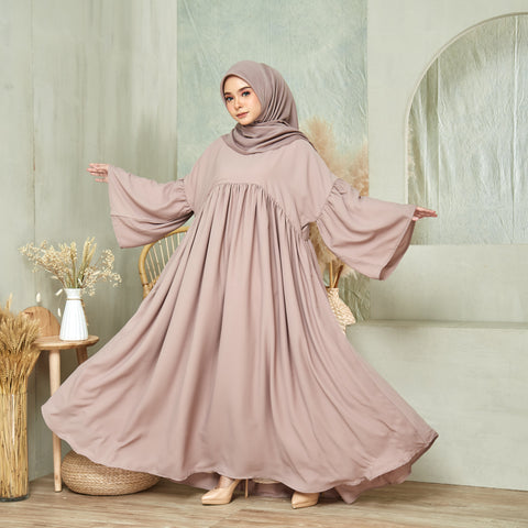 Maryam Dress in Latte (NEW!)