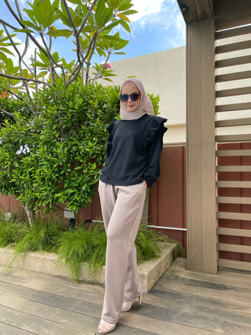 Iffah Pants in Taupe (NEW!)