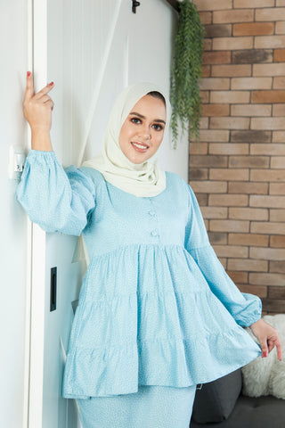 Hannah Kurung in Blue (Ladies)