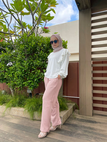 Iffah Pants in Nude (NEW!)