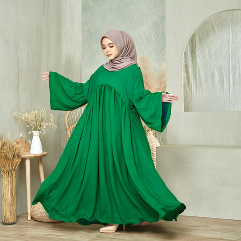 Maryam Dress in Emerald Green (NEW!)