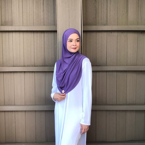 Kayla  Instant Hijab (LAVENDER) PROMO BUNDLE AVAILABLE