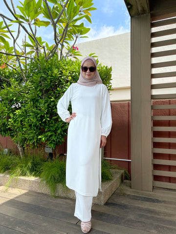 Ayra Tunic in White