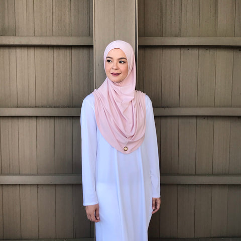 Kayla Instant Hijab (COTTON CANDY )