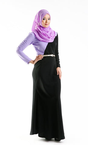 Rania Dress (Purple)