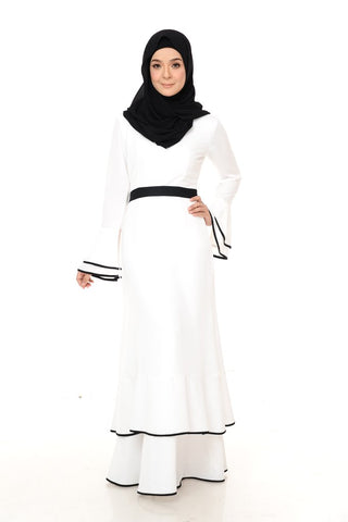 Camilia Dress (White)