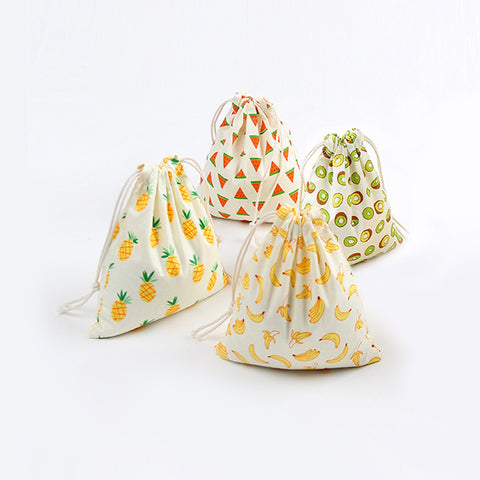 Fruit Series Drawstring Bag