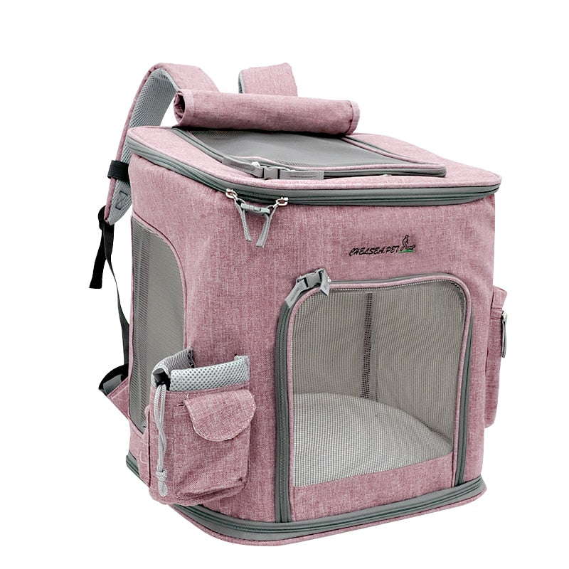 Comfortable Pet Carrier Backpack Large Capacity for Dogs & Cats